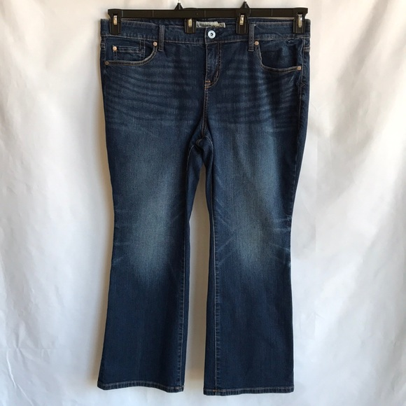 Torrid dark wash slim boot cut blue jeans, 18XS